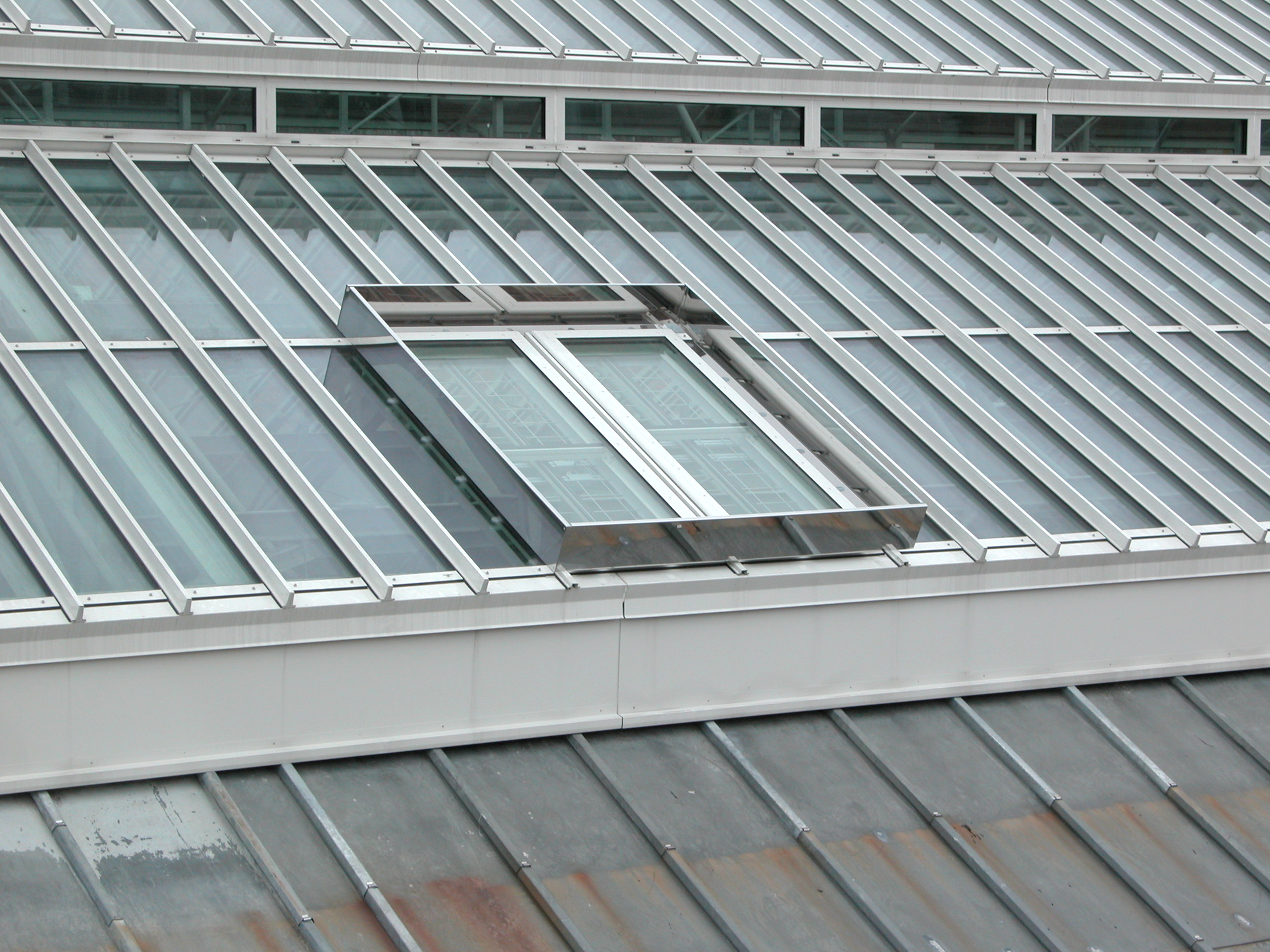 Photo of roof ventilation hatch