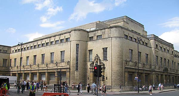 Photo of New Bodleian Library – Oxford