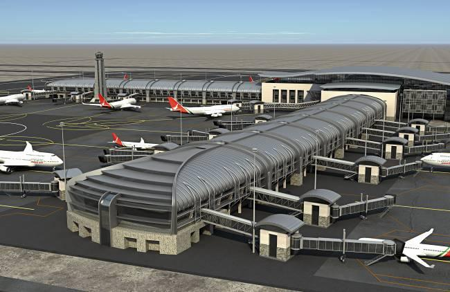 Design of Muscat airport, Oman